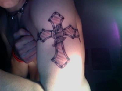 My Cross Tattoo