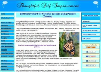 Thoughtful Self Improvement